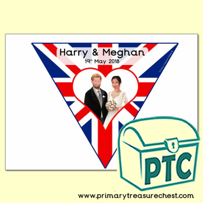 Harry and Meghan royal wedding bunting