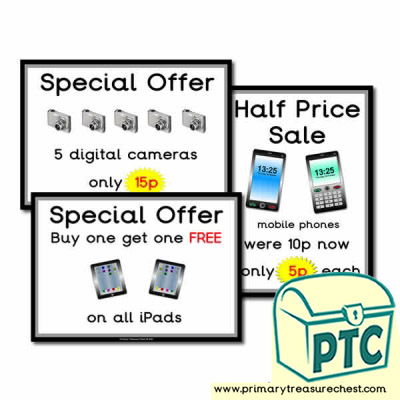 Role Play Electrical Shop Special Offers (1-20p)