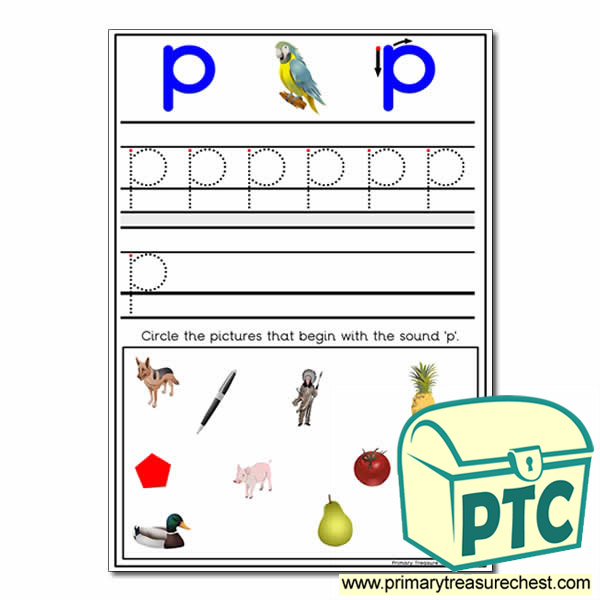 Find the Letter 'p' Pictures