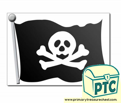 Role Play Pirate Flag