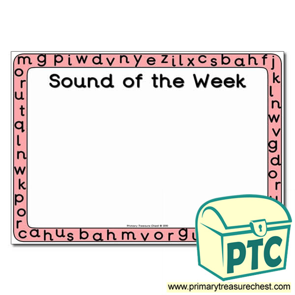 Sound of the Week Poster