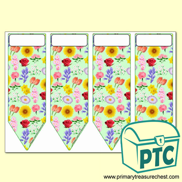 Flowers Themes Bookmarks
