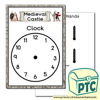 Medieval Castle Role Play Clock