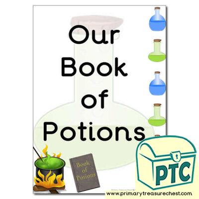 Potions Book Cover