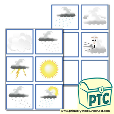 Weather Chart 'Today's Weather' Pictures Labels
