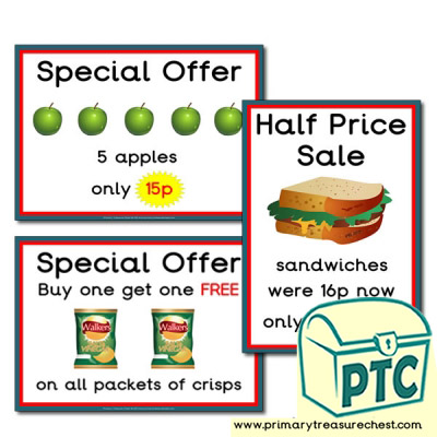 Train Station Cafe Special Offers (1-20p)