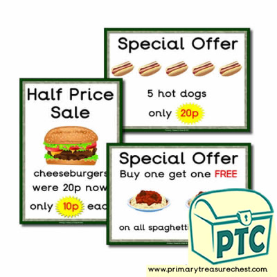Dinosaur Park Cafe special offers (1-20p)