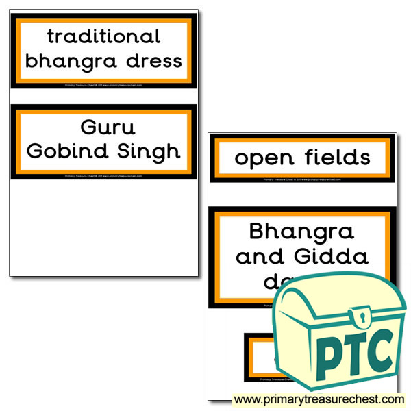 Vaisakhi Themed Display Words