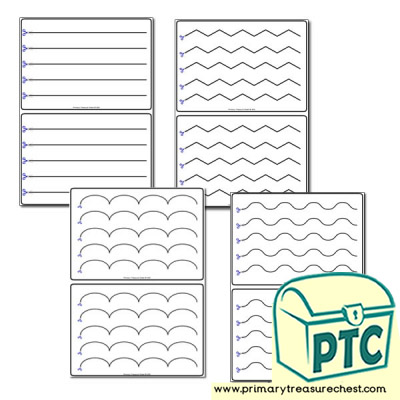 Scissor Control - Cut - Teacher Worksheets