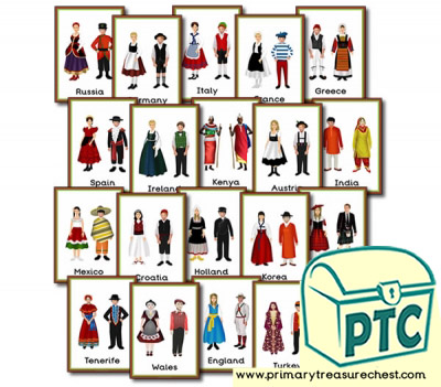 Traditional Clothes / Costumes  Posters