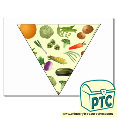 Vegetable Themed Bunting