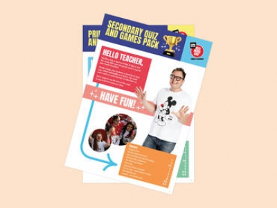 Red Nose Day Quiz and Games Extras for Primary