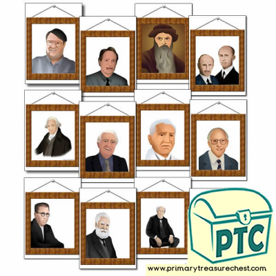 Picture Frames of Inventors