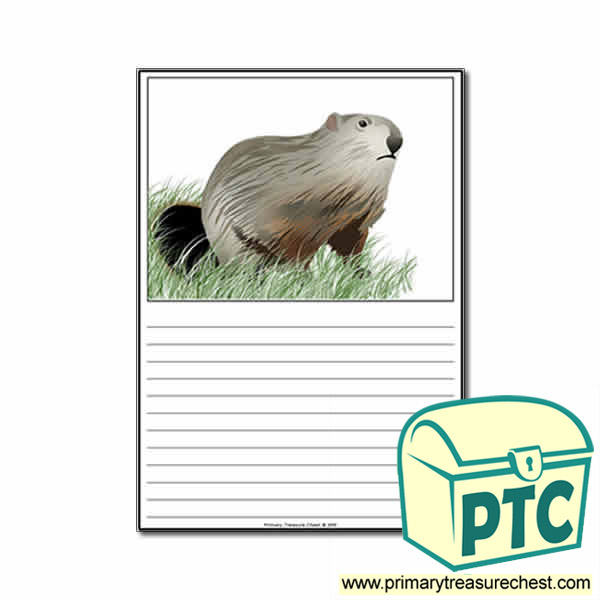 Groundhog Day Themed Worksheet