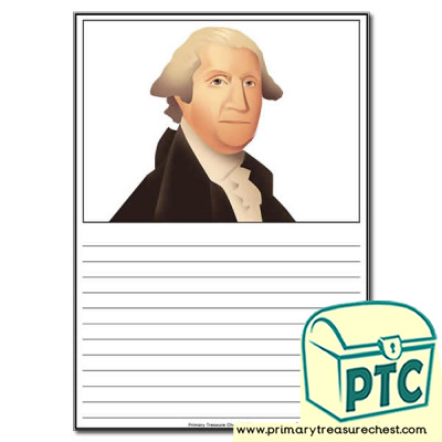 George Washington Themed Worksheet