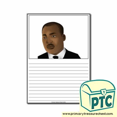 Martin Luther King Jr Worksheet