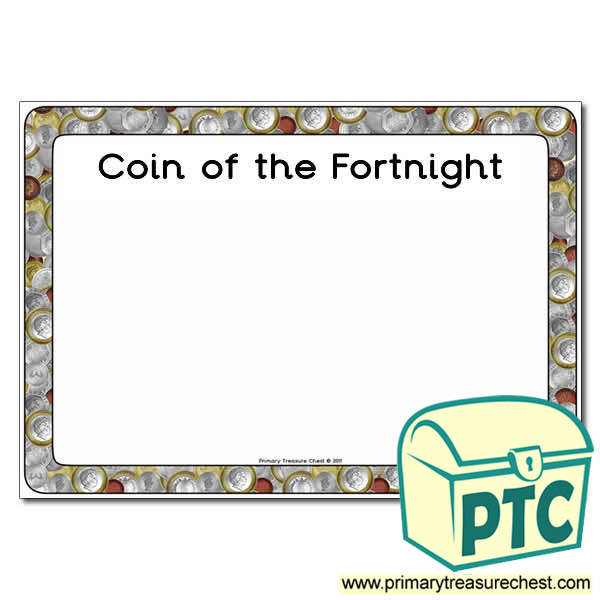 Coin of the Fortnight Poster