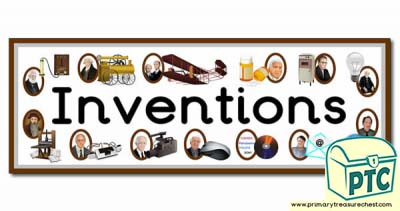 'Inventions' Display Heading