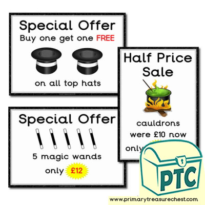 Role Play Magic Shop Special Offers - 21p £99
