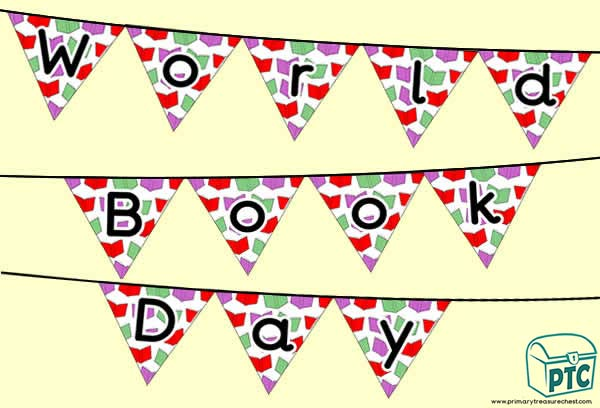 World Book Day Bunting