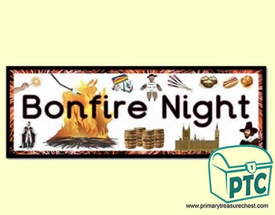 'Bonfire Night' Display Heading / Classroom Banner