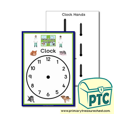 Vets Role Play Clock