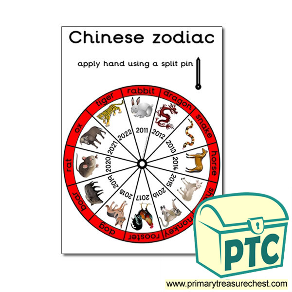 Chinese zodiac Poster (with Sheep)