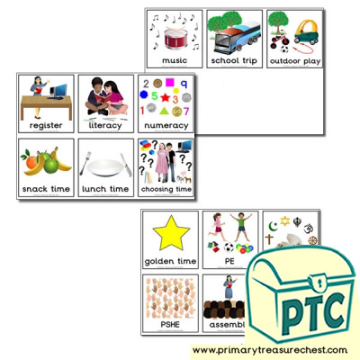 Timetable Activity Cards