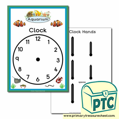 Aquarium Role Play Clock