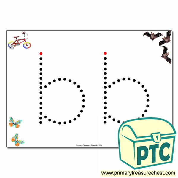 'b' Lowercase Letter Formation Activity