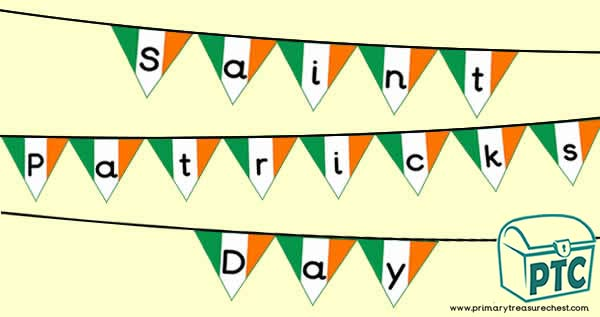 'Saint Patrick's Day' Bunting