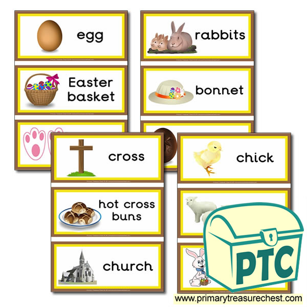 Easter Themed Flashcards