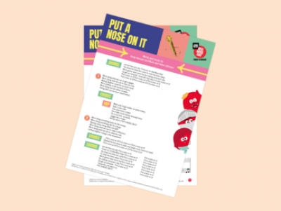 Red Nose Day school song Lyrics