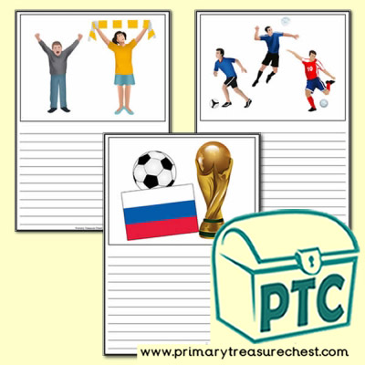 Football World Cup 2018 Worksheets