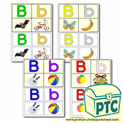 FREE  'b' Themed Lotto/Bingo Game