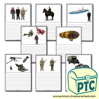 World War One Themed Worksheet