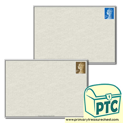 Envelope Writing Worksheet
