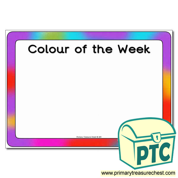 Colour of the Week Poster