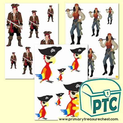 Pirate Sorting Activity