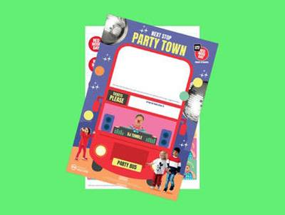 Prepare to party for Red Nose Day - Nurseries Event Poster