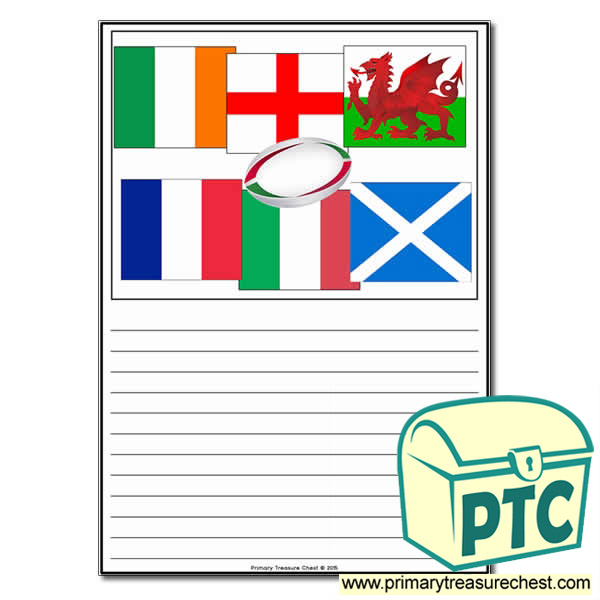 Six Nations themed worksheet.