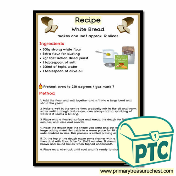 Recipe for Bread Poster