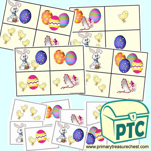 Easter Lotto Cards