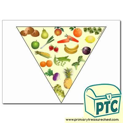 Fruit and Vegetable Bunting