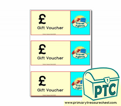 Role Play Travel Agents Vouchers