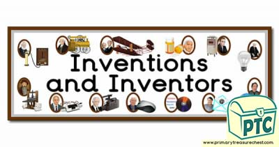 'Inventions and Inventors' Display Heading
