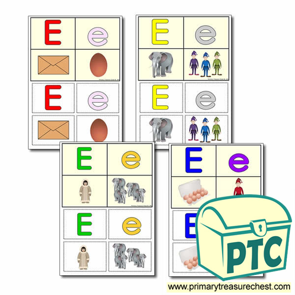 FREE  'e' Themed Lotto/Bingo Game