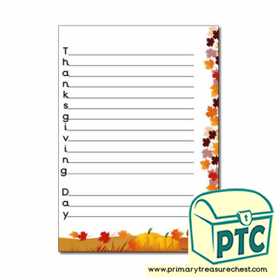 'Thanksgiving' Display Heading/ Classroom Banner