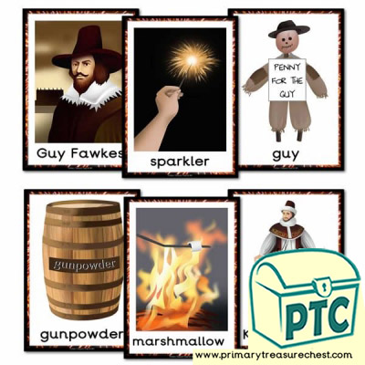 Guy Fawkes/Bonfire Night Flashcards