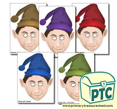 Elves Role Play Masks